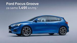 Ford Focus Groove s gomilom opreme za 1491 kunu mjesečno