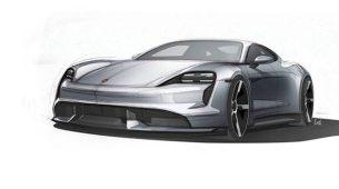 Porsche Taycan – službene skice, teaseri i potvrda druge izvedbe