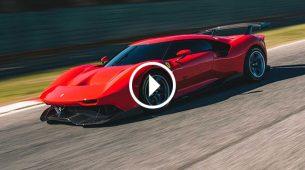 Ferrari predstavio jedinstveni P80/C