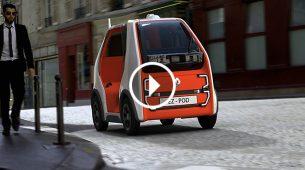 Renault EZ-Pod – autonomni Twizzy za kraće udaljenosti