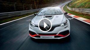 Novi Renault Megane RS Trophy-R predstavljen s rekordom