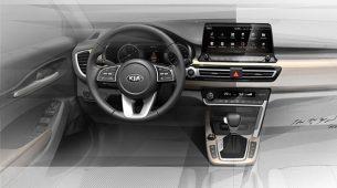 Kia najavila interijer novog malog SUV-a
