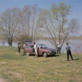 Promotivna fotografija Renaulta 16 snimljena uz Loiru