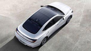 Hyundai predstavio Sonatin solarni krov – dnevno može napuniti do 60% baterije