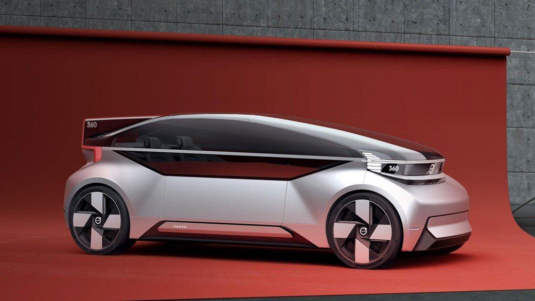 Koncept autonomnog električnog vozila. Nije posve jasno zašto proizvođači misle da ovakav nerealan dizajn mora biti povezan s idejom autonomne vožnje