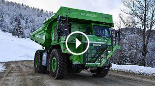 eDumper – električni pogon, 65 tona nosivosti i ne treba punjenje