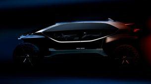 Audi AI:Trail Quattro električni off-road concept stiže u Frankfurt