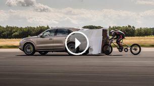 Porsche Cayene pomogao u postavljanju novog brzinskog rekorda za bicikle