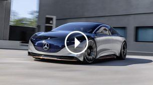 Mercedes-Benz Vision EQS – električni luksuz budućnosti