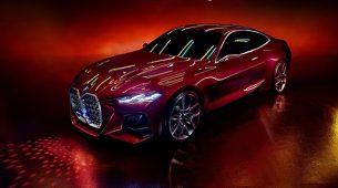 BMW Concept 4 – možda su pretjerali s maskom?