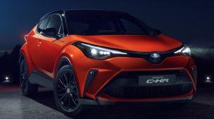 Toyota C-HR dobiva manje osvježenje i novi 2,0l hibridni pogon