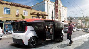 Cruise Origin – električni minibus bez volana
