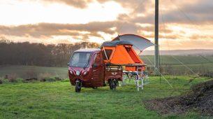 Elektro Frosch – jeftini električni kamper za dvoje