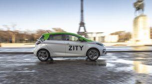 Usluga ZITY – ponuditi će 500 Renaulta ZOE za dijeljenje korisnicima preko mobilne aplikacije u Parizu
