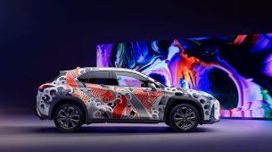 Lexus UX poslužio za prvo tetoviranje automobila ikada