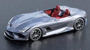 Neslužbeni koncept Mercedesa u čast Siru Stirlingu Mossu