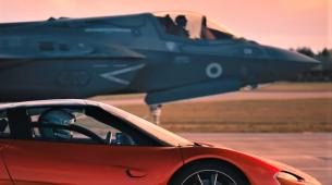 Spektakularna utrka: McLaren Speedtail protiv lovca F35