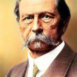 Kolorizirani portret Carla Benza. Službena potvrda kojom se dozvoljava vožnja Patent-Motorwagena na javnim prometnicama, Benzu je izdana 1. kolovoza 1888.