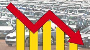 Totalni potop prodaje novih automobila!