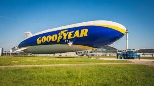Goodyearov cepelin dug 75 metara, ponovno leti iznad Europe