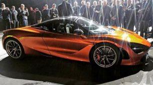 Prva fotografija McLarena 720S