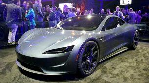 Ovako bi izgledao Tesla Roadster s raketnim pogonom