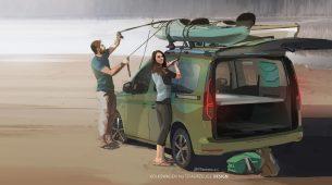 Na kampiranje s novim VW Caddy kamperom