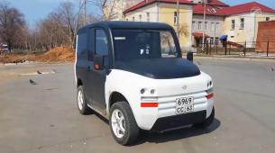 ZETTA – jeftini ruski gradski električni automobil