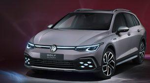 Volkswagen razotkrio karavanski Golf i njegovo Alltrack izdanje