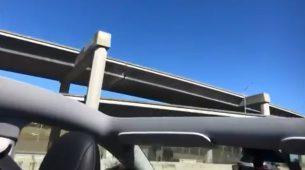 Novi Teslin Model Y u prvoj vožnji ostao bez krova