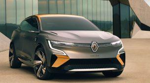 Renault modelom Mégane eVision najavljuje novi kompaktni električni automobil