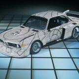 Frank Stella, BMW 3.0 CSL (1976.)