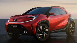 Toyota planira crossver verziju malenog Ayga