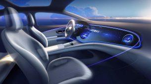 Otkriven futuristički dizajn unutrašnjosti Mercedesa EQS
