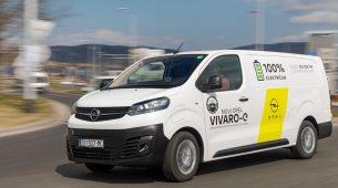 Električni Opel Vivaro za gradske dostave bez ispušnih plinova od 243.200 kuna
