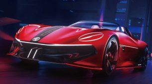 MG Cyberster: koncept električnog roadstera povezivoga na 5G