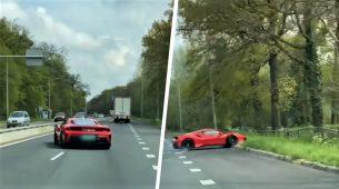 Kako ne bi trebalo voziti novog skupocjenog Ferrarija