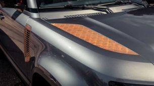 Novi Land Rover Defender s dodatnom opremom u obliku hrđe