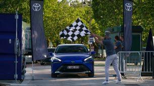 Toyota Mirai prešla preko 1.000 km s jednim punjenjem vodika