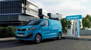 Peugeotov električni kombi s opcijom vožnje na vodik
