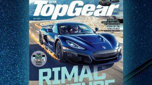 Rimac Nevera na naslovnici Top Geara