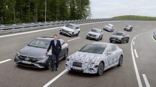 Mercedes najavio: do 2030. potpuno prelaze na struju