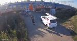 U Srbiji vozač umalo nastradao pod vlakom, sve snimila nadzorna kamera