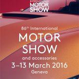 Plakat 86. Međunarodnog salona automobila u Ženevi