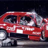 Euro NCAP: prva serija Crash testova - Nissan Micra (1997.)