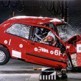 Euro NCAP: prva serija Crash testova - Renault Clio (1997.)
