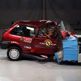 Euro NCAP: Crash test povodom 20. obljetnice organizacije (Rover 100)
