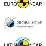 logotipi: Euro NCAP, Global NCAP i Latin NCAP