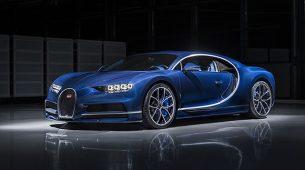Bugatti Chiron na pola puta