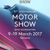 Plakat 87. međunarodnog salona automobila u Ženevi, 2017.